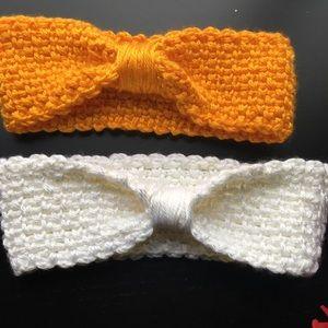 Crochet twist headbands